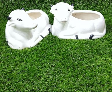 Cow Shape Planter